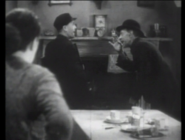 Sara Allgood, Edward Chapman and Sidney Morgan in Juno and the Paycock (1930, dir. Alfred Hitchcock) US Brentwood bootleg DVD