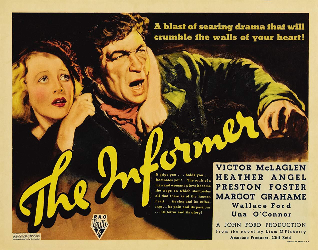 The Informer (dir. John Ford, 1935) US lobby card