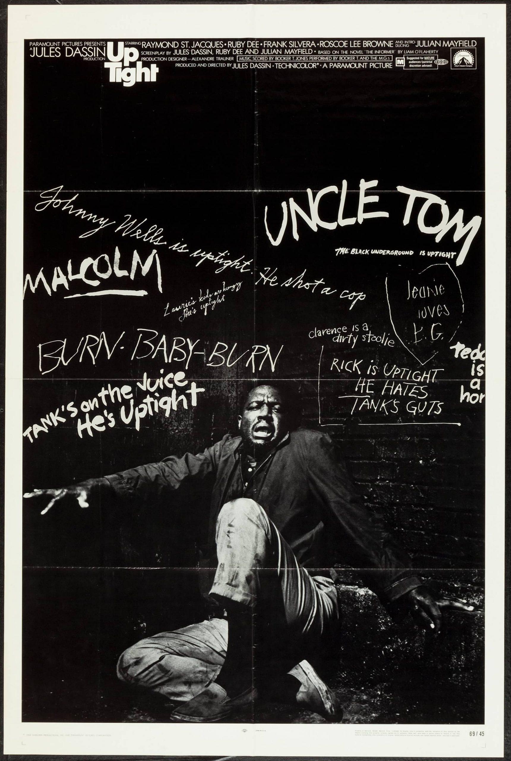 Uptight (dir. Jules Dassin, 1968) US poster