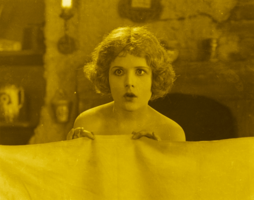 Marjorie Daw in The Passionate Adventure (1924, asst dir. Alfred Hitchcock)