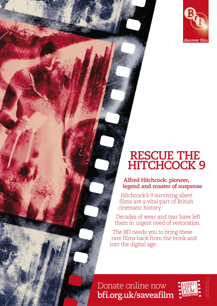 BFI Rescue the Hitchcock 9 poster, 2010