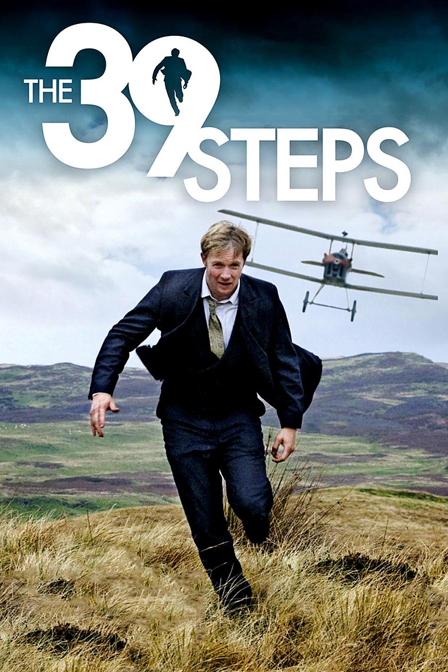 Rupert Penry-Jones in The 39 Steps (2008) UK poster