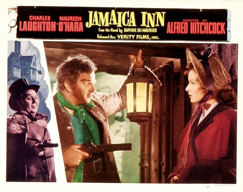 Jamaica Inn (1939, dir. Alfred Hitchcock) US 1949 re-release lobby card