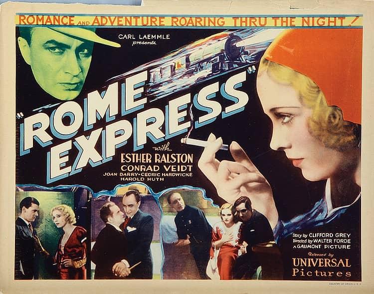 Rome Express (1932) US lobby card