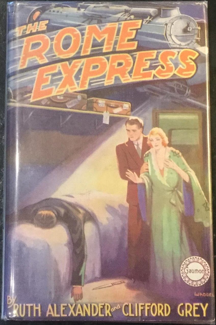 Rome Express novel by Ruth Alexander and Clifford Grey (1933)