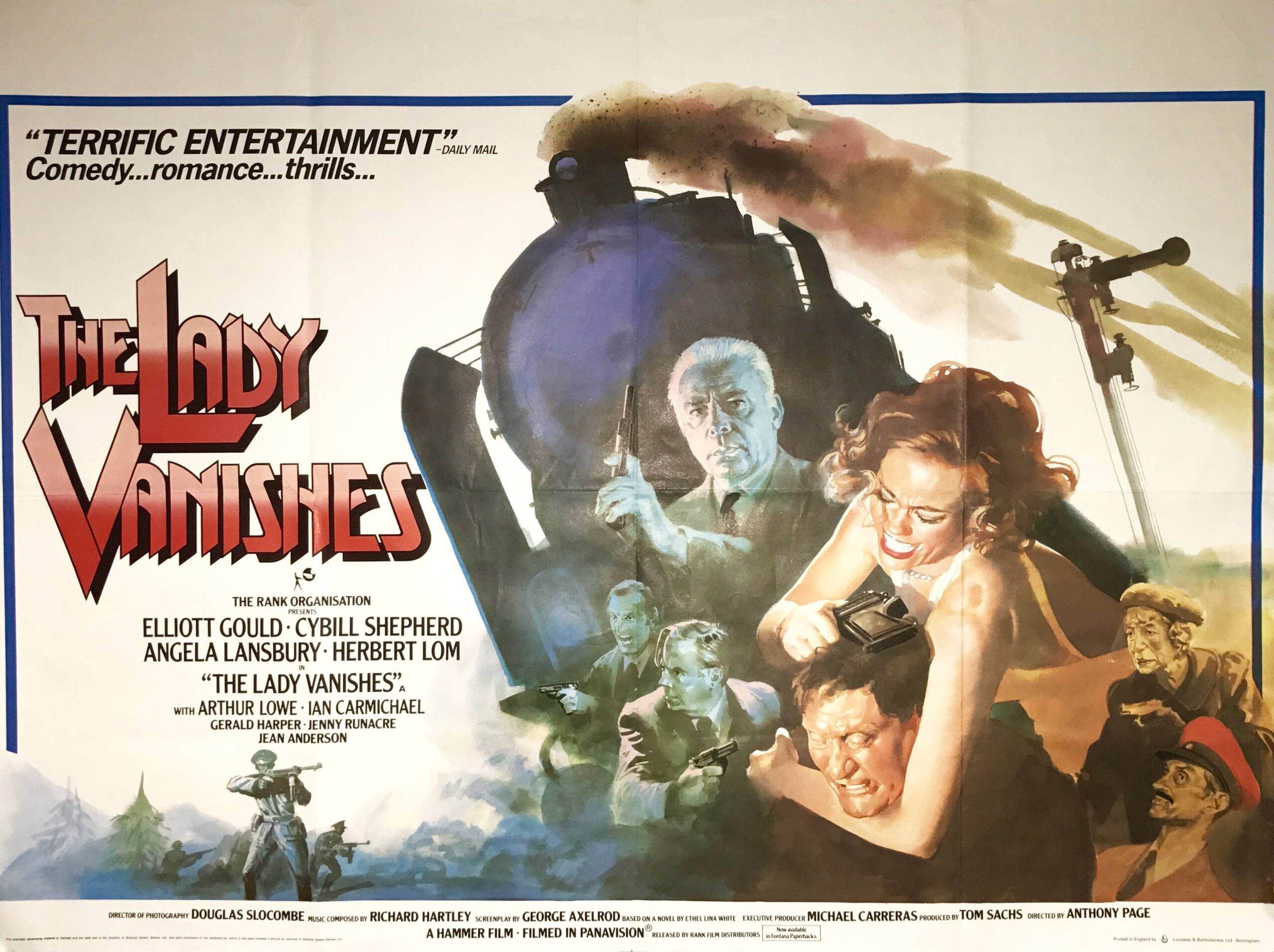 The Lady Vanishes (1979) UK poster