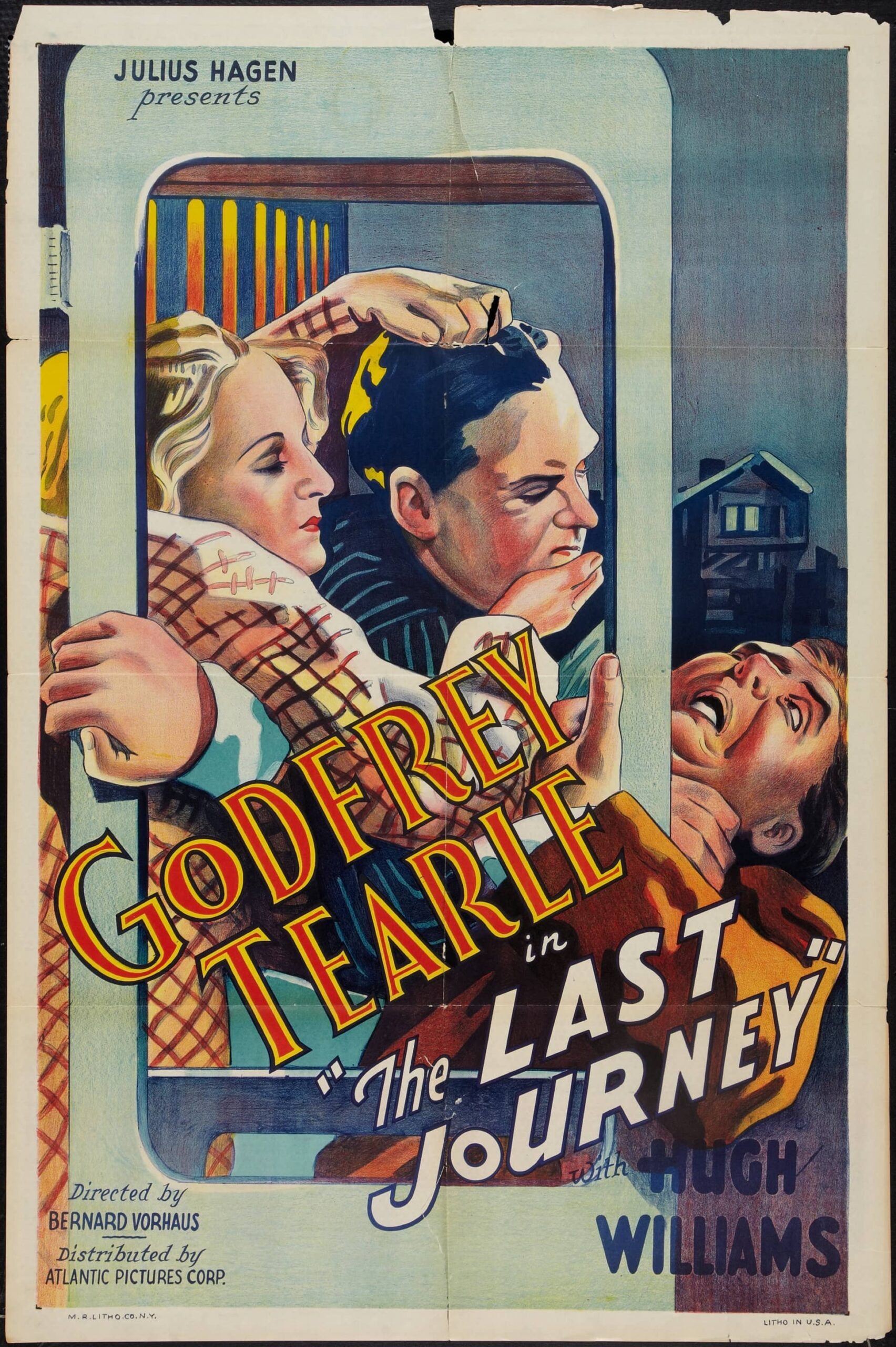 The Last Journey (1936) US poster