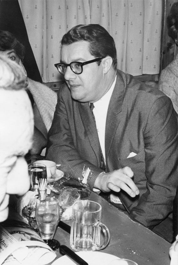 Raymond Rohauer at the Austrian Film Museum, 12.1965