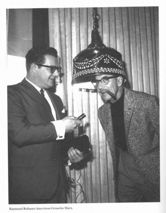Raymond Rohauer interviewing Groucho Marx